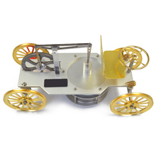 цена на Stirling engine model low temperature difference engine model children car gift classic car toy