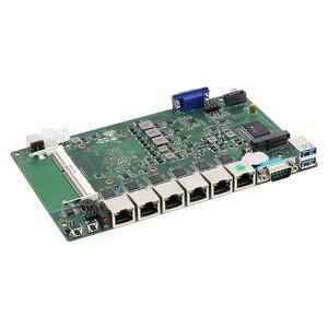 Image 5 - Bebepc 6 lanファイアウォールミニpcインテルコアi3 7100U celeron 3955U 3855Uルータpfsense windows 10 linux産業用コンピュータ