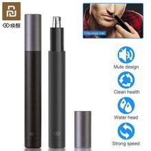 Youpin Mini Afeitadora eléctrica para el pelo de la nariz, máquina para cortar el pelo de la oreja HN1, cuchilla afilada, lavado corporal, diseño minimalista portátil, resistente al agua