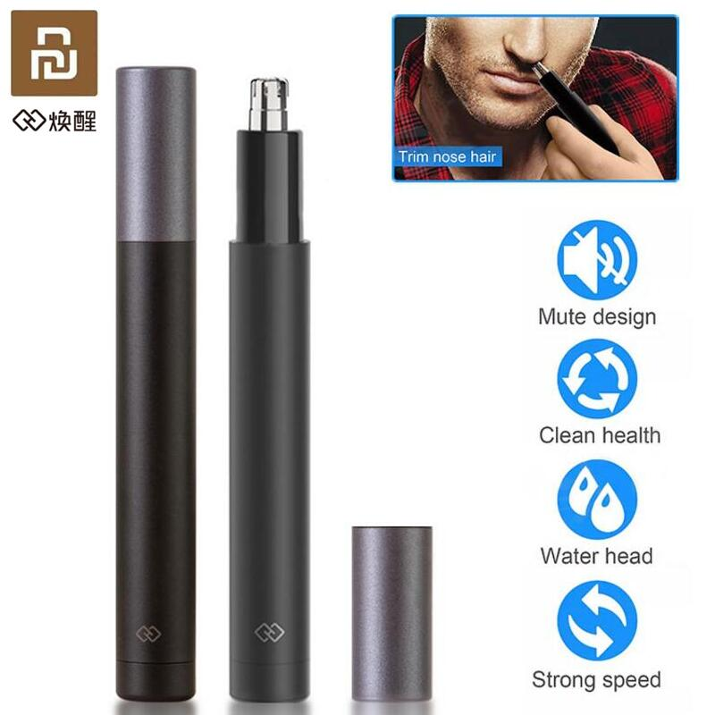 Youpin Mini Electric Nose Hair Trimmer Ear Hair Shaver Clipper HN1 Sharp Blade Body Wash Portable Minimalist Design Waterproof