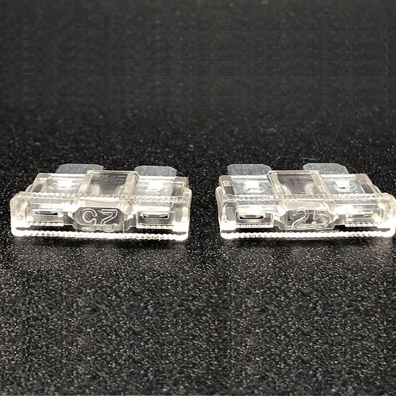 100PCS Car Fuses 2A 3A 5A 7.5A 10A 15A 20A 25A 30A 35A Amp with Box Clip Assortment Auto Blade Type Fuse Set Truck Auto Fuse Set
