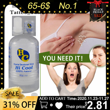 60g Crystal Deodorant Alum Stick Body Underarm Odor Remover Antiperspirant for Men and Women Men Deodorant Stick Undefined недорого
