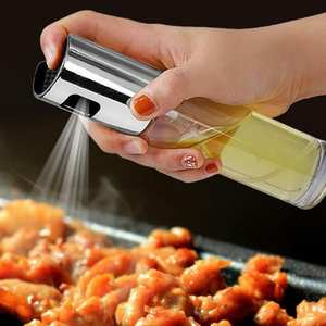 Sprayer Bottle-Pump Oil-Dispenser Cooking-Tools Olive-Oil Glass BBQ Stainless-Steel Kitchen