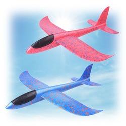 Avión volador DIY para niños, avión planeador de espuma EVA, modelo de avión juguete, juegos robustos para chico, regalo para niño y niña 2019