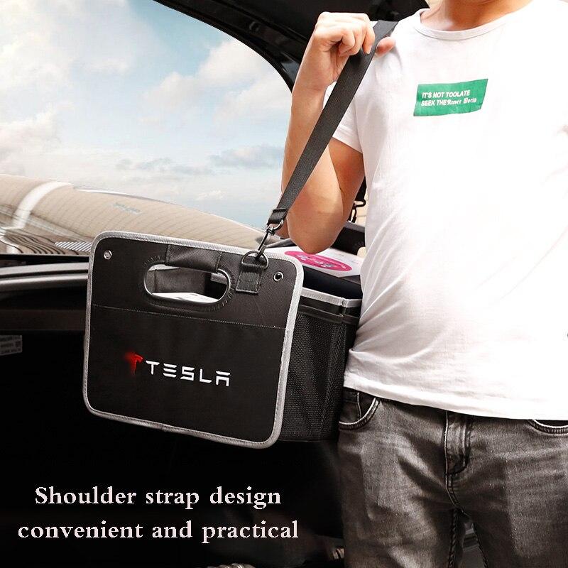 Автомобильный багажник, складная сумка для хранения для Benz BMW Audi для Tesla KIA MINI Chevrolet Ford Mazda Volvo Volkswagen Toyota Honda Geely
