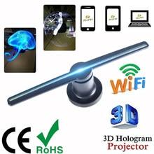 3d fã Fã Publicidade Display holograma Hologram projector lâmpada de Imagem Holográfica 3d Exibição de Publicidade logo Luz Decoração letreiro led progetor de imagem