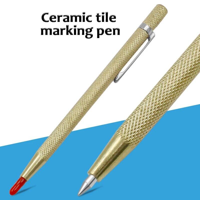 scribe utility tungsten carbide tip scriber marking etching pen general tool for ceramic tile glass scriber 30