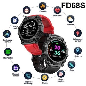 2021 Smart Watch Men Women Heart Rate Fitness Tracker Bracelet Watch Blue.tooth Waterproof Sport Smartwatch For Android IOS 2