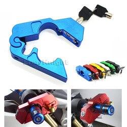 For SUZUKI GSR600 GSR400 GSR750 GSX1300R DL650 DL1000 CNC Handlebar Lock ATV Brake Clutch Security Safety Theft Protection Lock