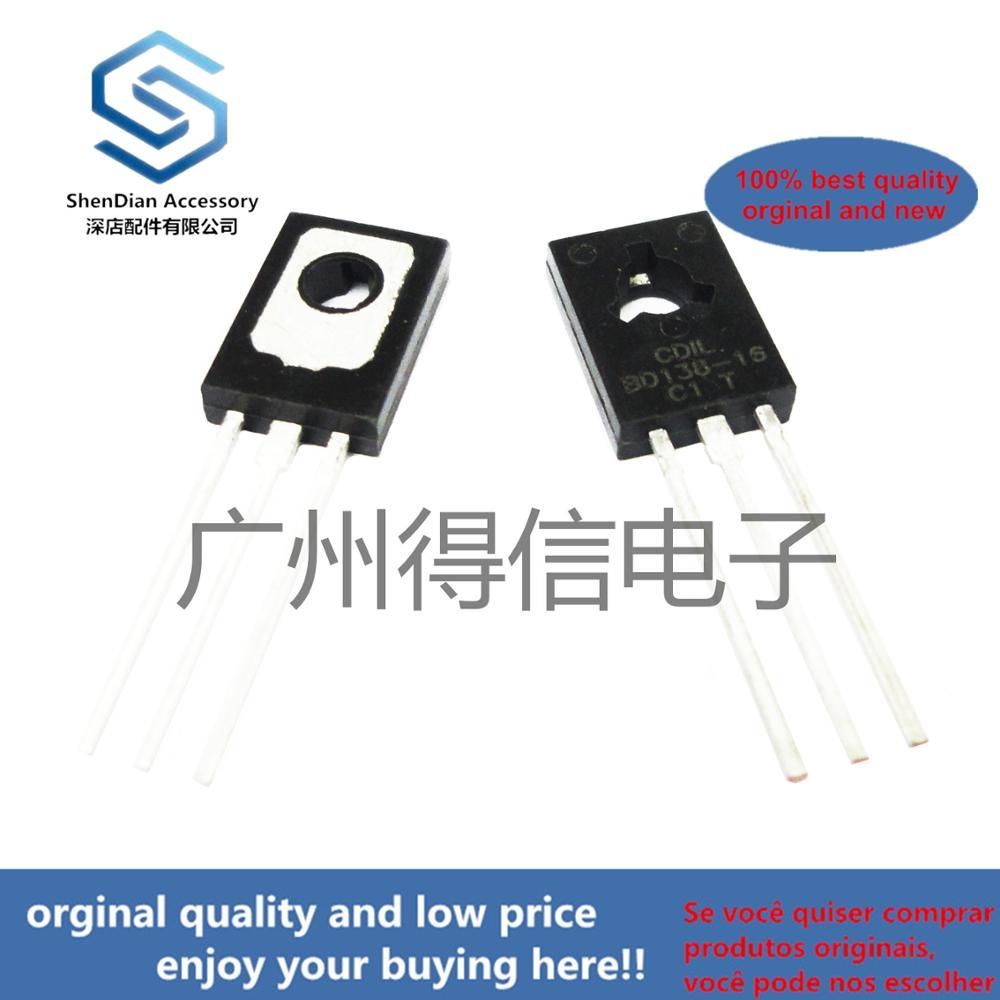 10pcs 100% Orginal New BD138 138 TO-126 PNP Power Transistors Real Photo