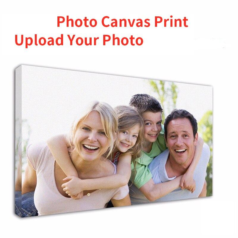 Foto personalizada imprime a lona da pintura sua foto transforma-se na lona-personalizado como o envoltório da arte da galeria para a decoração da cópia da parede