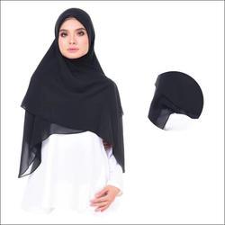 100*100 сплошной цвет хиджаб Абая квадратный шарф Мусульманский тюрбан Hijabs Foulard Femme Musulman Turbans для женщин платок тюрбанты