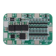 6S 22V 24V 15A 18650 Li-Ion Lithium Battery Protection Pcb Board Bms Cell Module