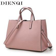 DIENQI sacs à main Saffiano en cuir véritable pour femmes, sacs à épaule de luxe, grande marque pour dames, grande sacoche à main, nouvelle collection 2020