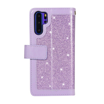 Luxury Leather Flip Wallet Hawei P30pro Bling Case For Huawei P30 P20 Mate20 Mate10 Pro Lite Zipper Phone Cover Coque Mujer Bag