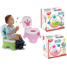 Kids Music Toilet Portable Baby Cute Toilet Seat Pot Potty Training Seat Children's Potty Baby Toilet Bowl Pot Potty Toilet(China)