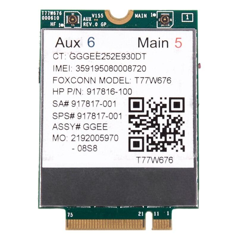M.2-Module LTE 4G for HP It4120/Elite/X2/.. T77W676 WWAN 917817-100
