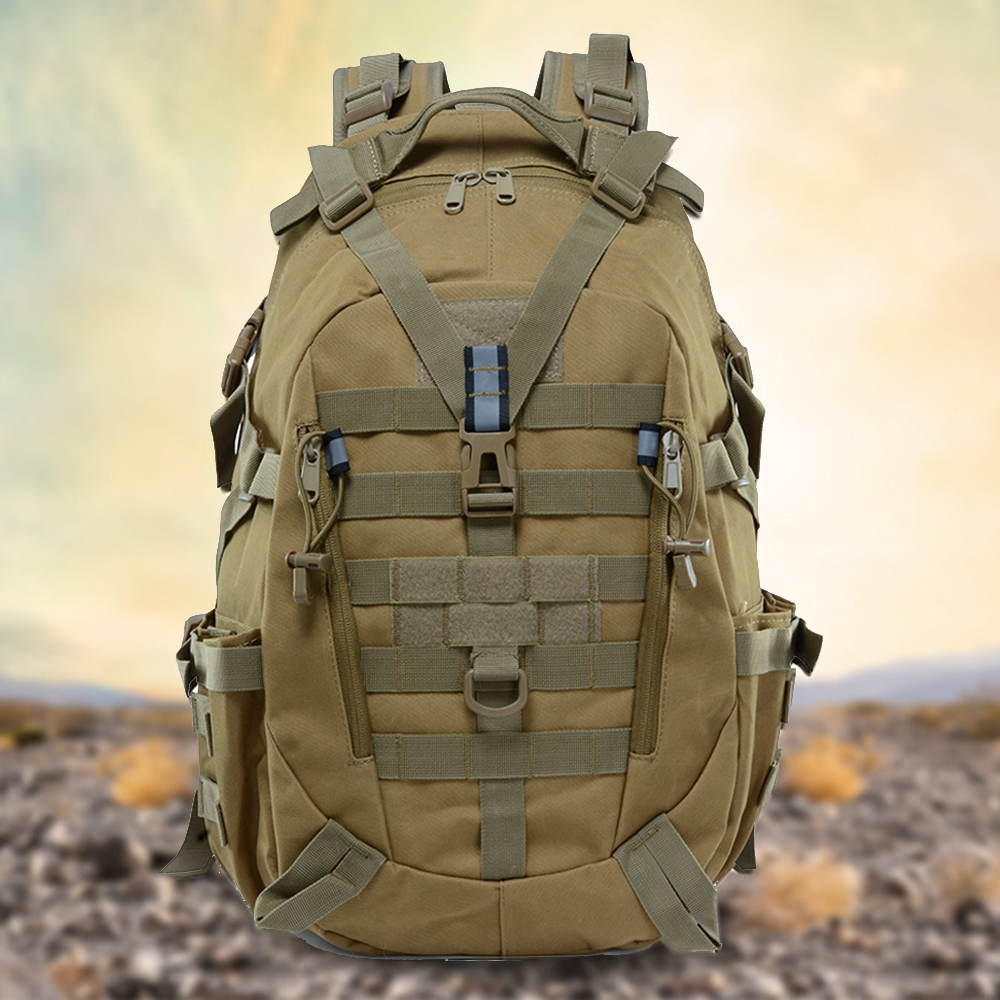 High Quality Military Climbing Camouflage Backpack Camping Hiking Trekking Rucksack Travel Outdoor Camo Sport Bags
