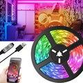 Светодиодная лента Verlichting, питание от USB, RGB, 2835 цветов, Bluetooth, ИК-пульт дистанционного управления, Гибкая лампа, Диодная, подсветка для телевиз...