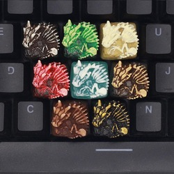 Kawaii Baby Dinosaur Keycaps