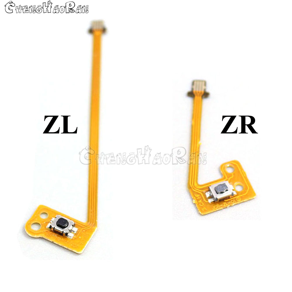 Repair SL SR ZL ZR L Button Ribbon Flex Cable for Nintendo NS Switch Joy-Con L R Button Key for JoyCon Controller parts 6