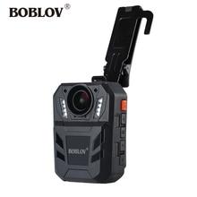 BOBLOV WA7-D 32GB Mini Police Camera Ambarella A7 4000mAh Battery DVR HD 1296P Remote Control Body Cam Policia Video Recorde