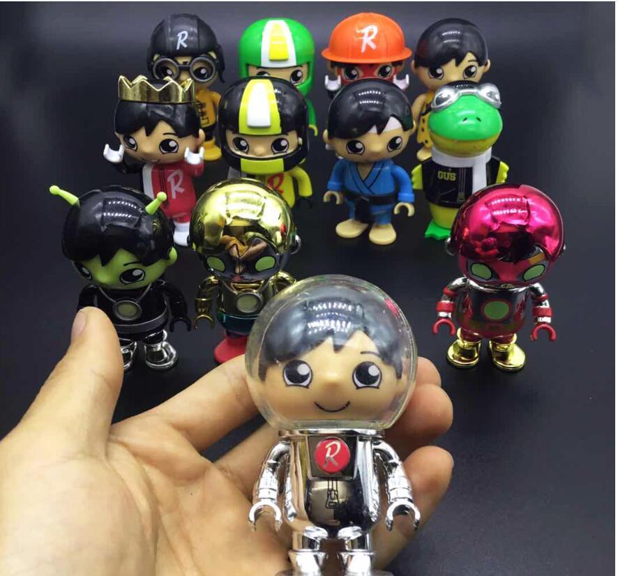 80mm 10pcs/lot random send Ryan world action figure best kids toys for boys