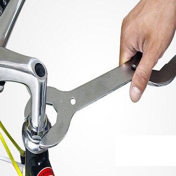 1 Pcs MTB 산악 자전거 헤드셋 렌치 스패너 30 32 36 40 mm 멀티 헤드 멀티 툴 키 래칫 스패너 자전거 수리 0127