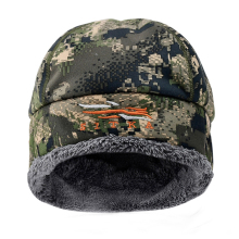 Новинка, зимняя мужская шапка для охоты Sitka, камуфляжная, толстая, тепловая, теплая, ветровка, Primaloft, меховая шапка SITKA, мужская, Охотничья Шапка