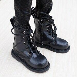 "Image 1 - נעלי BJD שחור מגפי נעלי Flates עבור 1/3 24 ""גבוה זכר BJD בובת SD DK DZ AOD DD בובה משלוח חינם HEDUOEP"