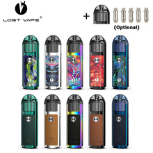 Original Lost Vape Lyra Pod System Kit 1000mAh battery 20W Electronic Cigarette Vape 2ml Pod Cartridge Tank with Mesh MTL Coil