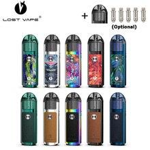Originele Verloren Vape Lyra Pod Systeem Kit 1000Mah Batterij 20W Elektronische Sigaret Vape 2Ml Pod Cartridge Tank met Mesh Mtl Coil