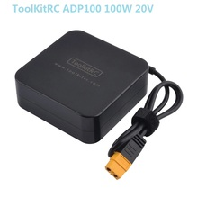 ToolKitRC ADP100 100W 20V Power Supply XT60 Output Adapter for IMax B6 Charger