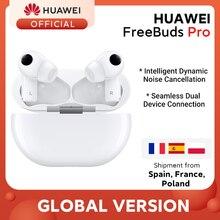 Новое поступление глобальная версия HUAWEI Freebuds Pro Smartearphone Qi Беспроводная зарядка ANC функция для Mate 40 Pro P30 Pro