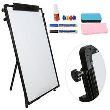 60*90cm Tripod Whiteboard Stand Whiteboard Dry Erase Board Writing Teaching Practice White Board Drawing Drawing Storage HWC