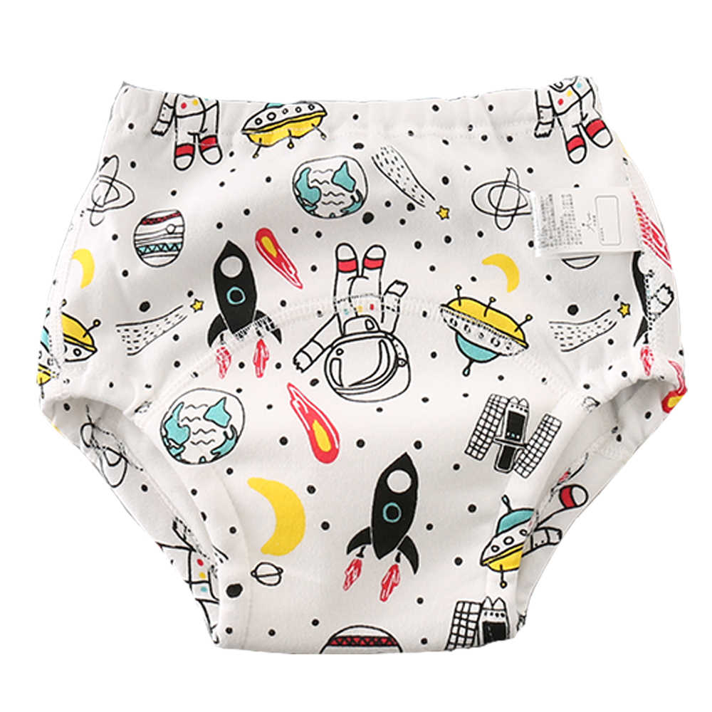 3Pack Baby Cotton Training Pants Reusable Potty Training Underwear for Boys and Girls 3T-4T , Girls-1 110cm