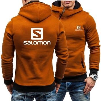 Новая мода с капюшоном куртка с детским принтом, мужские толстовки с капюшоном и свитшоты с капюшоном на каждый день тонкое пальто; Кардиган на молнии брендовая одежда M-3XL