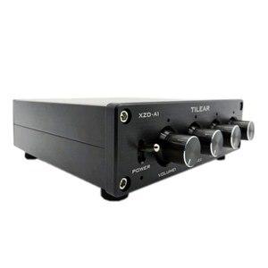 Image 3 - HIFI селектор сигнала распределителя звука с 1 входом и 4 выходами RCA HUB, переключатель источника, переключатель тона громкости для платы усилителя