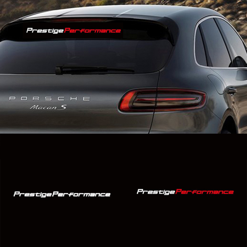 Car Stickers Prestige Performance Car Windscreen Reflective Sticker Car Body Sticker And Decals Car Accessories Interior
