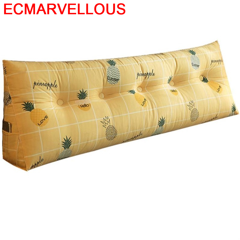 Decoracion Almofada Floor Pillow Taie Exterieur Cojin Infantil Seat Home Decor Coussin Decoration Cojine Back Headboard Cushion