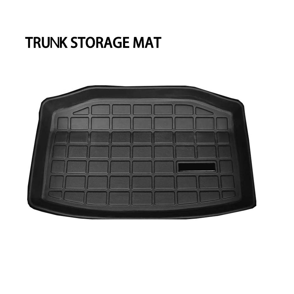 Front Box Mat Liseng Car Front Trunk Storage Mat Cargo Tray Trunk Waterproof Protective Pads Mat Compatible for Tesla Model 3