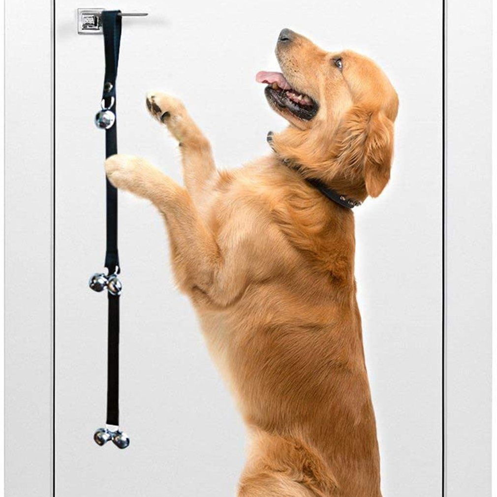 Dog Doorbell Rope Pet Safe Leash Rope Anti-Dog Grab Bite With Alarm Bells For Dog Training Safe Bite-resistant 1pc/2pcs optional-3