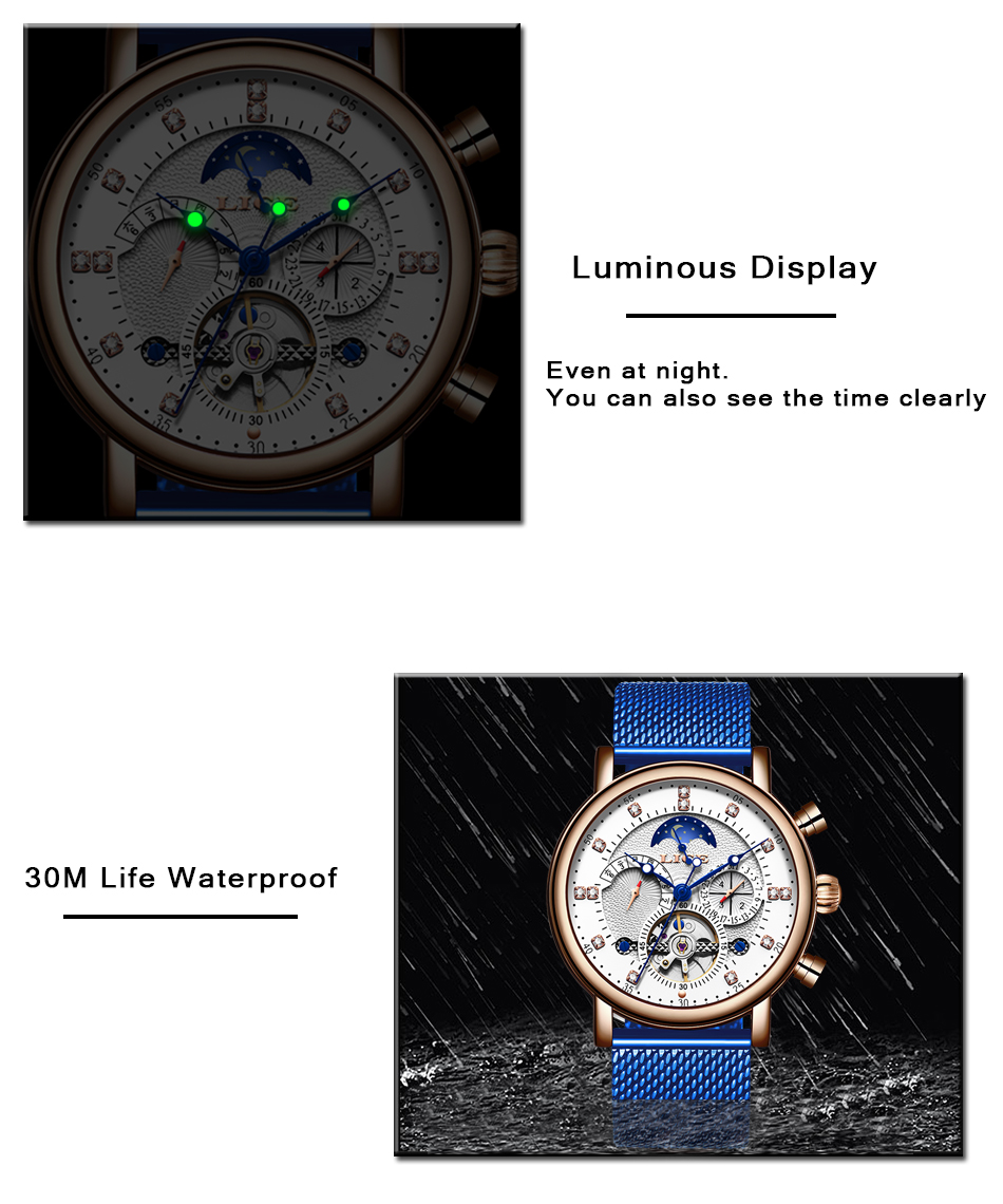 Hbeb030e581d74d548dbe9f9748f66d26X LIGE Gift Mens Watches Brand Luxury Fashion Tourbillon Automatic Mechanical Watch Men Stainless Steel watch Relogio Masculino