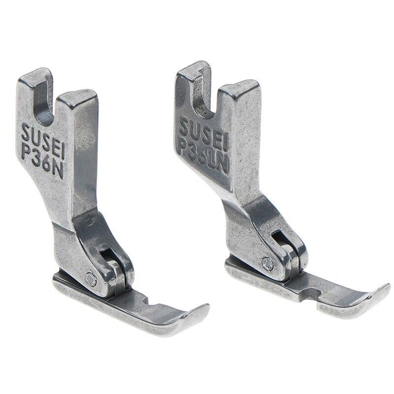 36LN / P36N Presser Foot Industrial Sewing Machine Flatcar Unilateral Presser Foot Steel-Sided Zipper Foot  Brand new