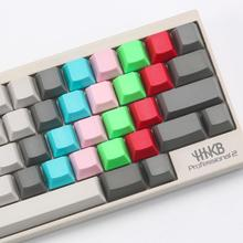 Topre realforce hhkb capacitor keyboard keycaps multicolour cap pbt material mixed green grey R1 R2 R3 R4 2.25