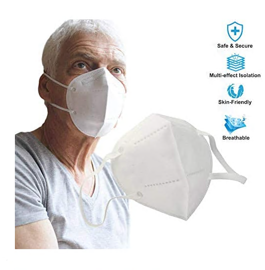Ffp2 Anti-dust Safe Breathable Mouth Face Mask Respirator Nail Dental Disposable Ear Loop Face Surgical Hypoallergenic