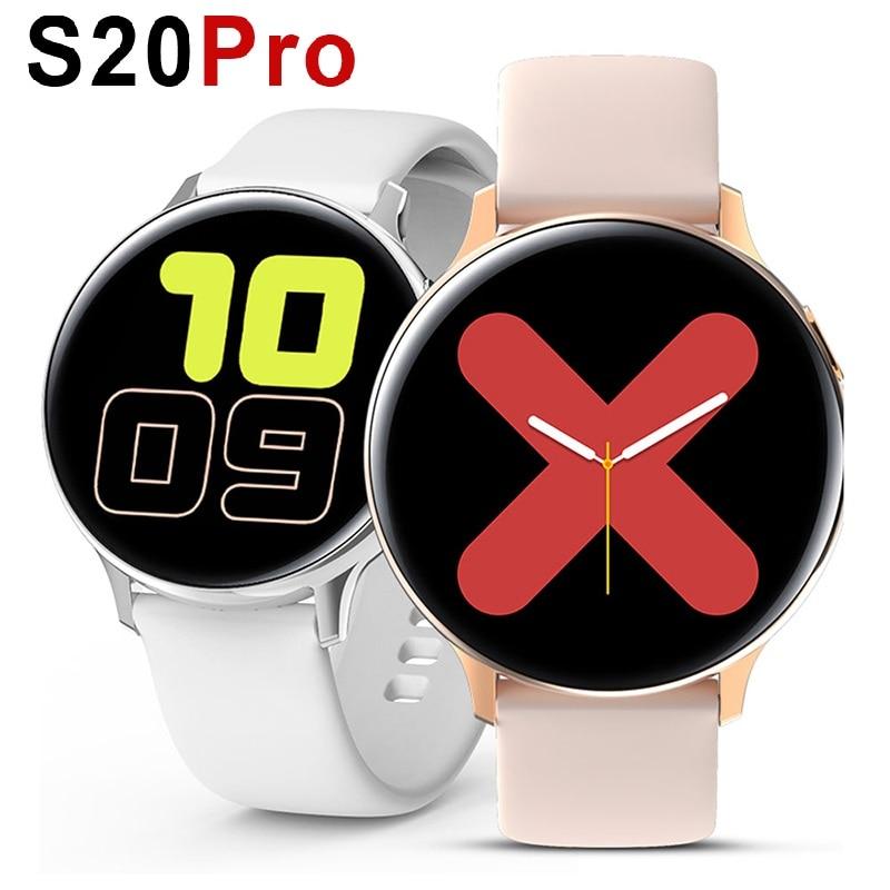 S20 Pro Smart Watch Men Women 2020 Heart Rate ECG PPG IWO 20 Smart Watch Ip68 Waterproof Sports Smartwatch For IOS Android