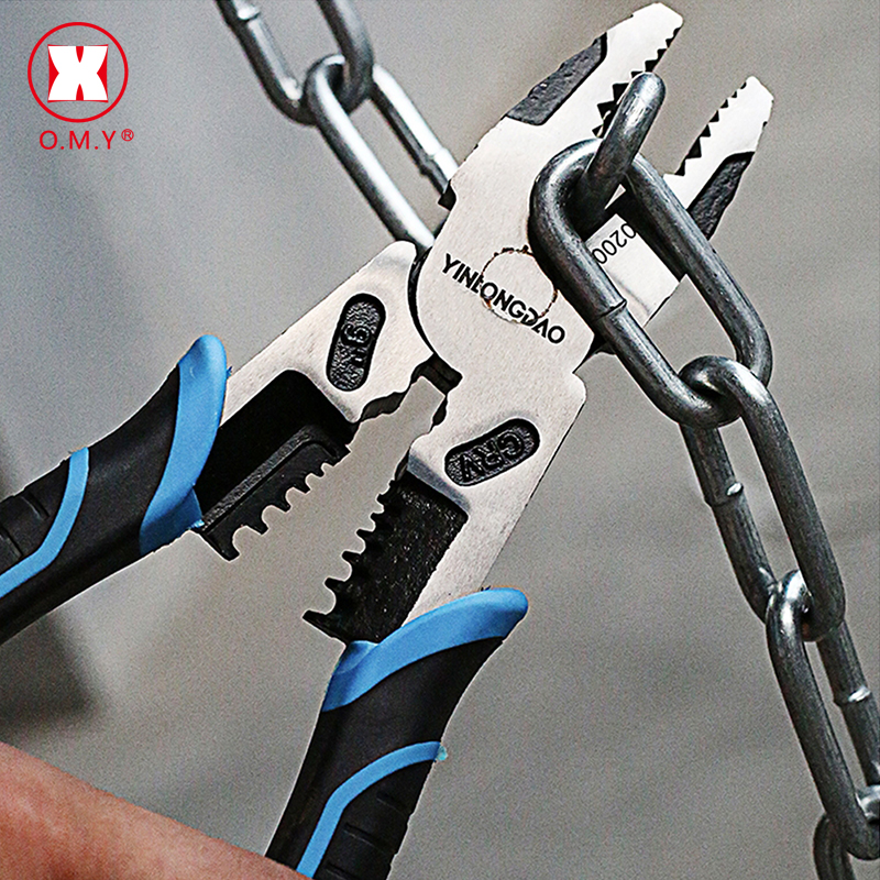 Wire Pliers Professional Tools  Set Stripper Crimper Cutter Needle Nose Nipper Wire Stripping Crimping Multifunction Hand Tools