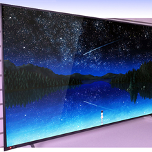 Tv de televisão 75 Polegada grande monitor 4k, tela e multi-idioma, android, lcd, led, wi-fi, ip dvb-t2 tv por cabo