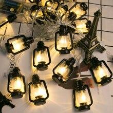 Светильник керосиновая лампа Винтаж Ретро строка светильник